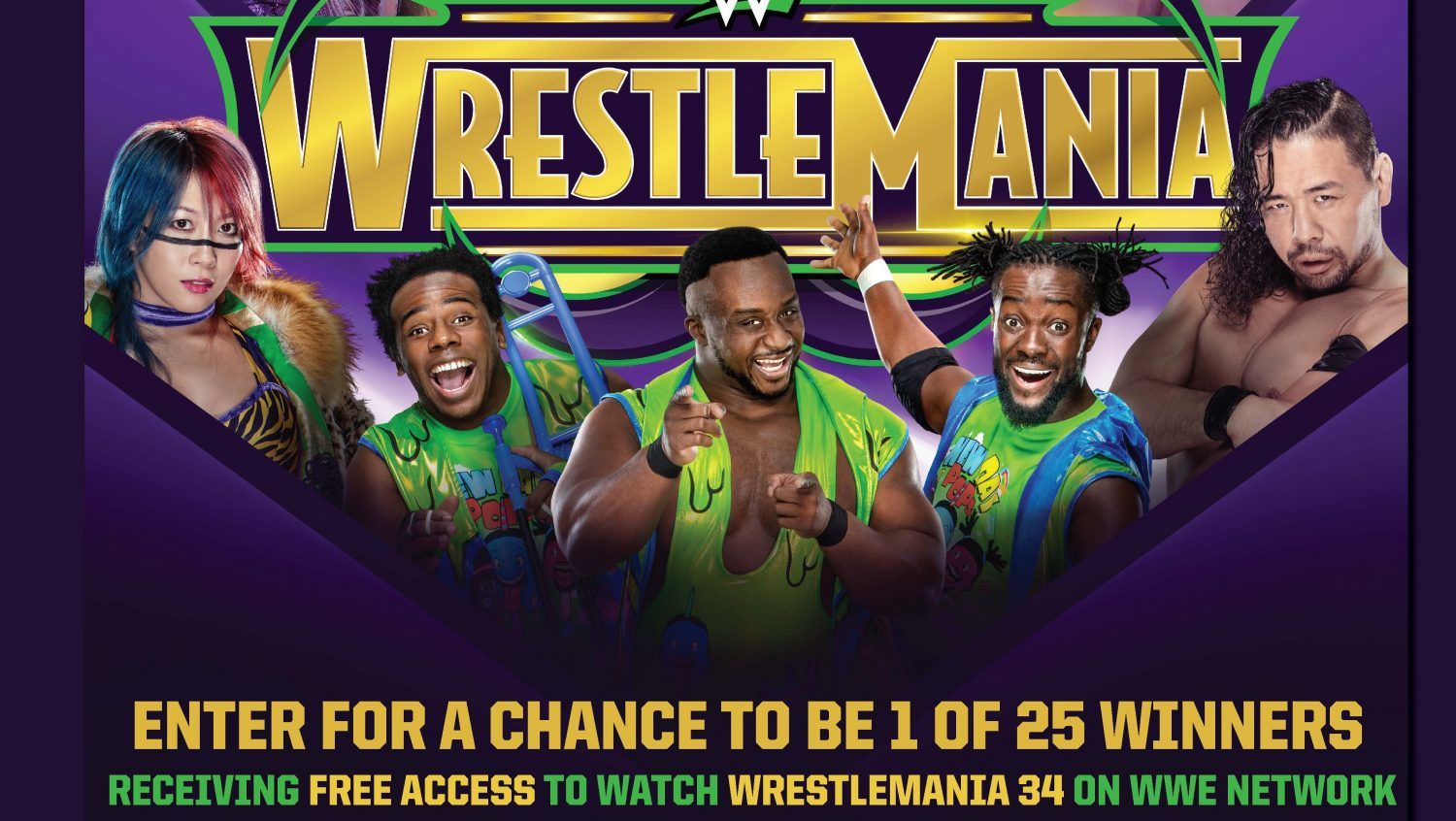 Don't Tap Out! Exchange Shoppers Can Win Free WrestleMania Access Code