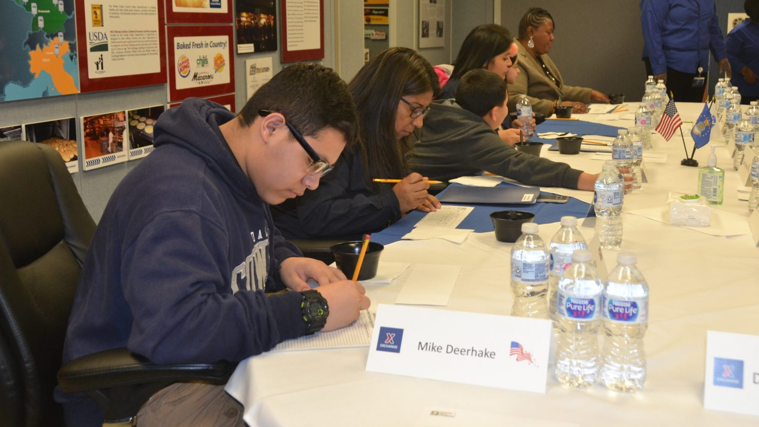 'A Taste of Home': Army & Air Force Exchange Service Enlists Help from Students at Dallas' Advantage Academy to Taste-Test School Meal Options for Military Kids Overseas