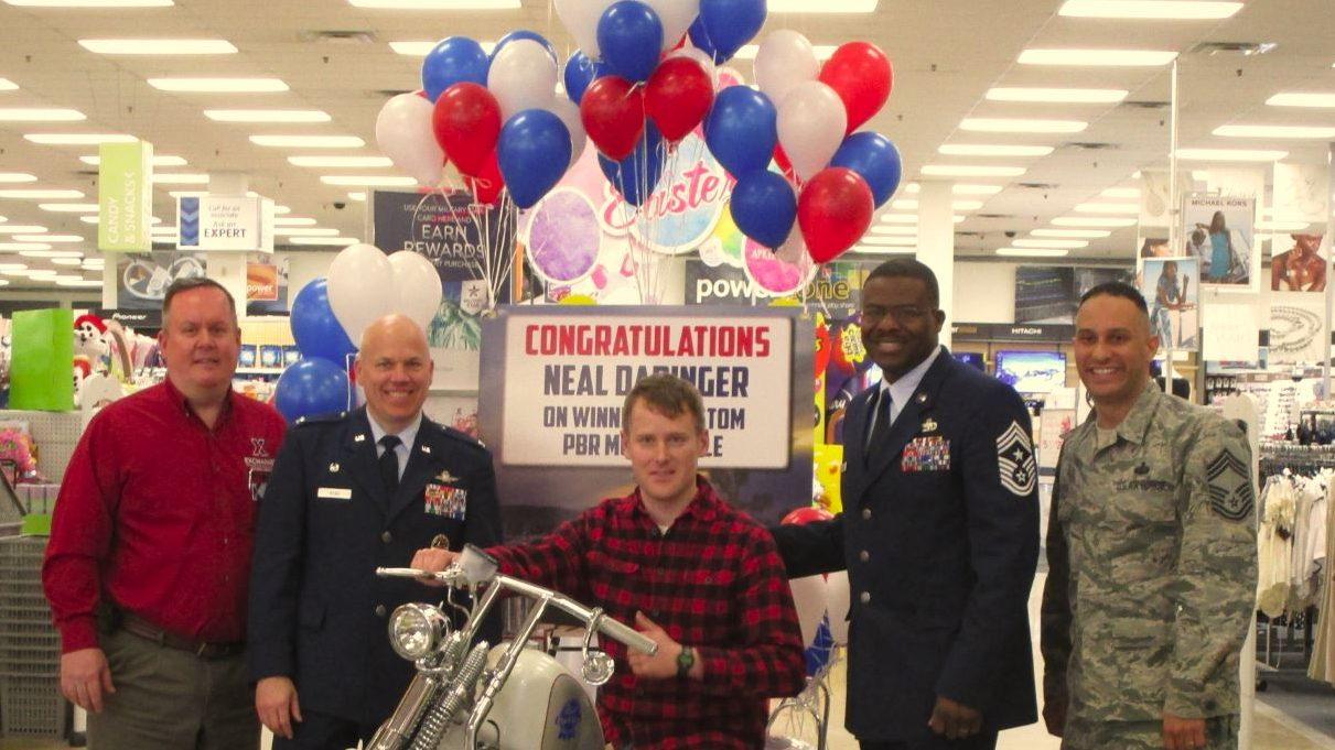 Iraq War Veteran, New Exchange Online Shopper, Wins $25,000 Motorcycle