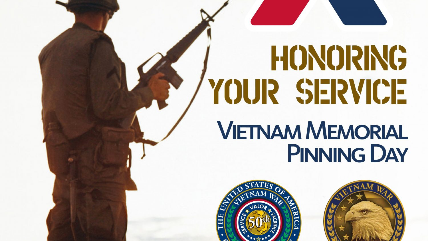 Army & Air Force Exchange Service to Honor Vietnam Veterans with Commemorative Pins March 29