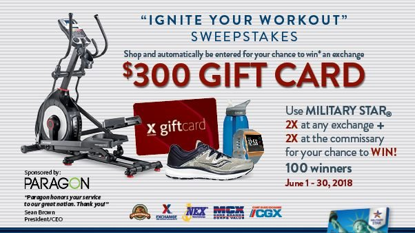"""""""Ignite Your Workout"""" Sweepstakes"""
