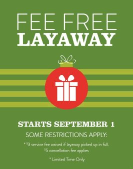 f3a11ffd195bf It s Back! Exchange Offering Fee-Free Layaway for the Holidays – The ...