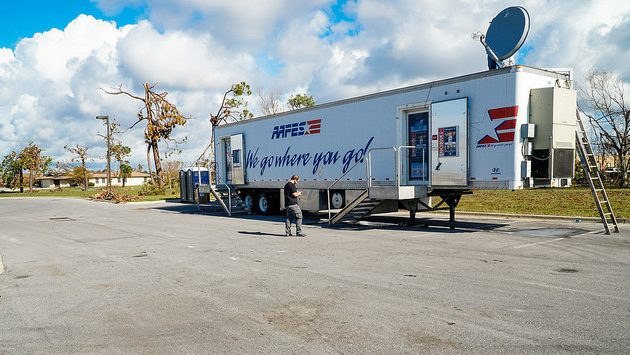 Army & Air Force Exchange Service Opens Mobile Field Store at Tyndall AFB—Only Retailer Open For Miles After Michael
