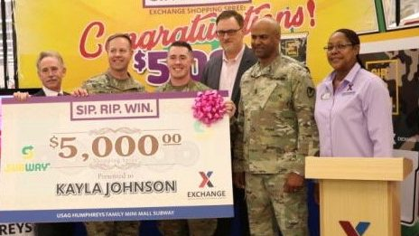 Camp Humphreys Military Spouse Wins $5,000 Exchange Shopping Spree