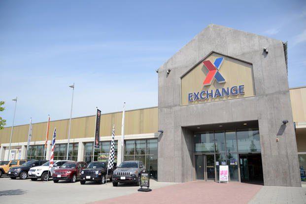 Exchange at USAG Ansbach