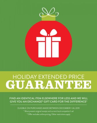 Exchange Shoppers Get The Best Deals With Holiday Price Guarantee The Exchange Newsroom
