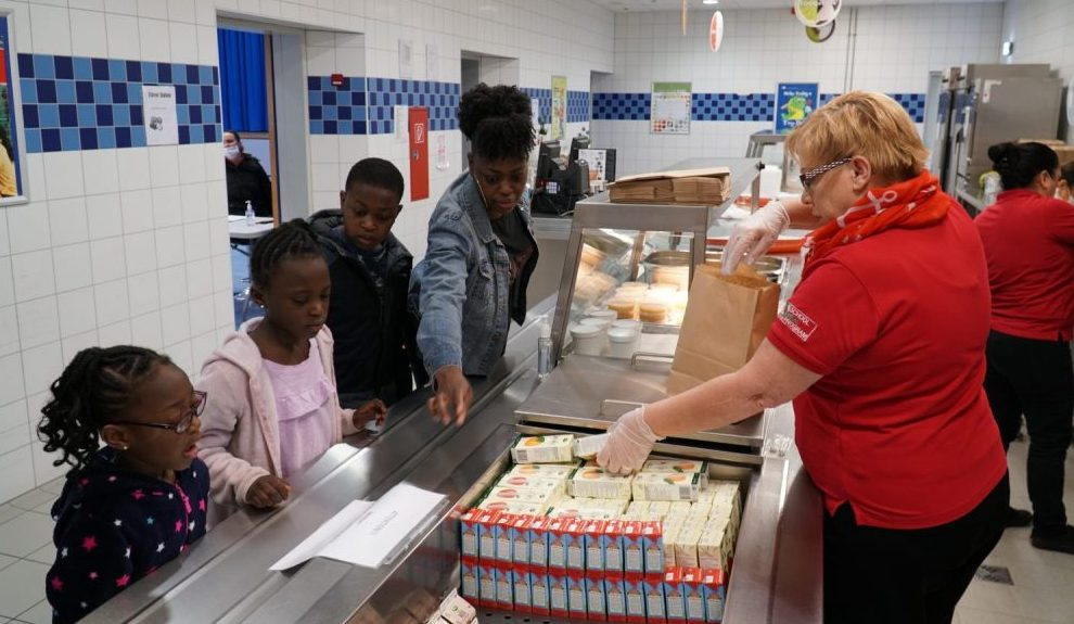 Grab and Go School Meal Ramstein