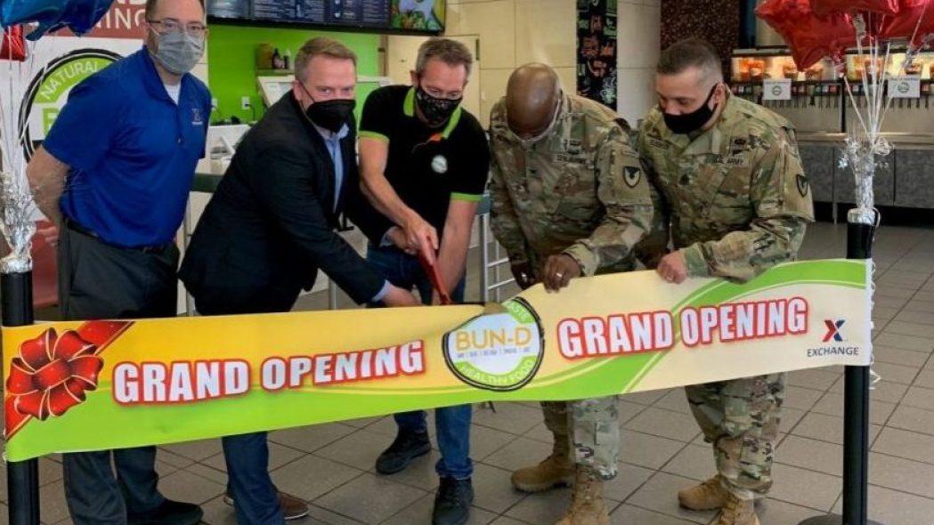 Fort Detrick Bun-D grand opening