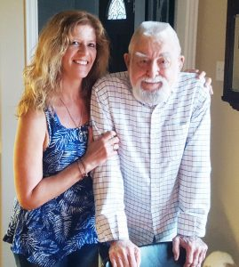 """Mia Zierlein and her father, Edward, have served the best customers in the world for more than 55 years, the quintessential examples of """"Family Serving Family."""""""