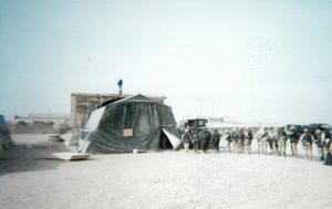 The Exchange's first store in Afghanistan was nothing more than a tent in Kandahahar.