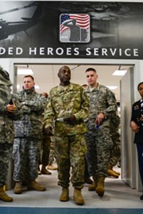 Wounded Warriors Heroes Service
