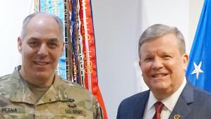 GEN Perna, Exchange Leaders Meet to Strengthen Foundation For Serving Warfighters