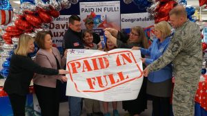 Whiteman AFB Military Star - Holiday Bill Paid in Full