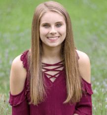 Leona Walton, daughter of Kristen Schmied, was awarded a $3,000 scholarship.