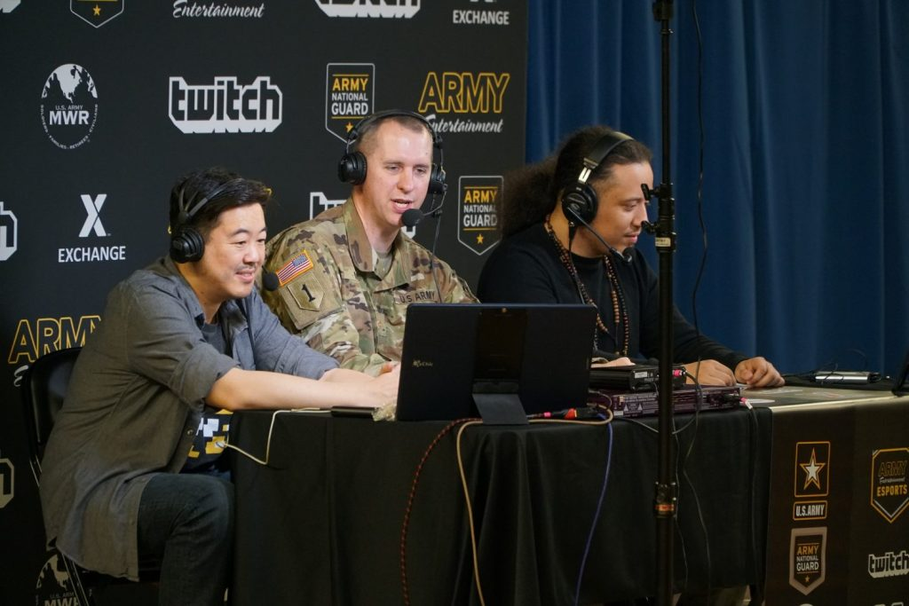 The DC Armory commentary team