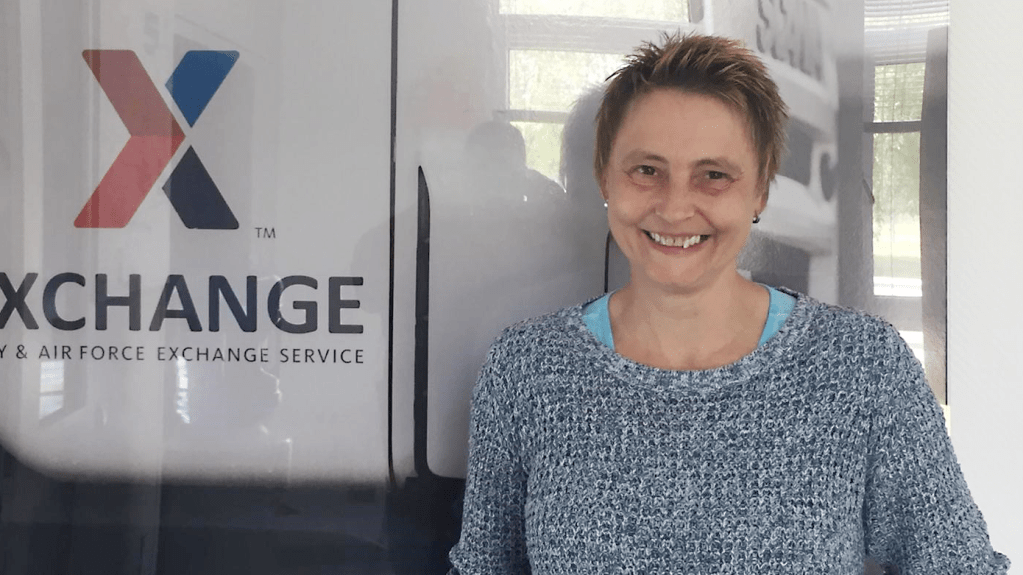 Heike Molter is the Exchange's first long-distance driver in Europe.