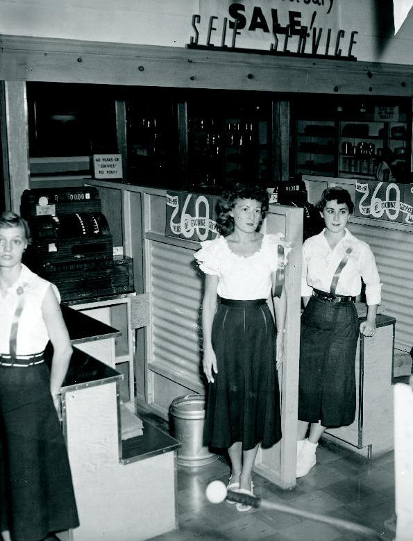 Fort Hood, 1955, celebration of Exchange's 60th anniversary