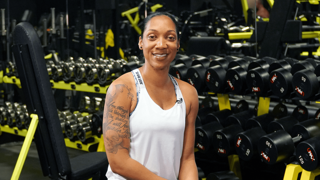 """Fitness has become the forefront of my life,"" says Sgt. 1st Class Sherille Butler, the Exchange's new BE FIT influencer."