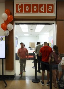Warfighters and their families celebrated the grand opening of FOODA at Joint Base Anacostia-Bolling on Aug. 12. Photo courtesy of the Joint Base Anacostia-Bolling Public Affairs Office.