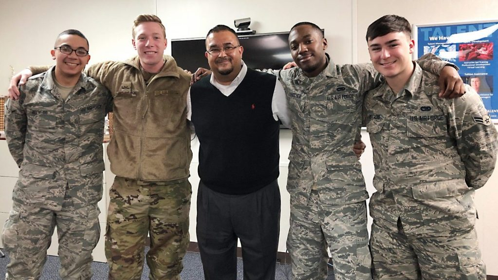 Pacific Fleet Manager Jonah Thomas said joint training with Exchange and Air Force drivers strengthens the Exchange's relationships with local military command units.