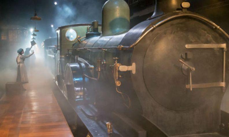 Last train leaves The Railway Children with Paul Hawkyard