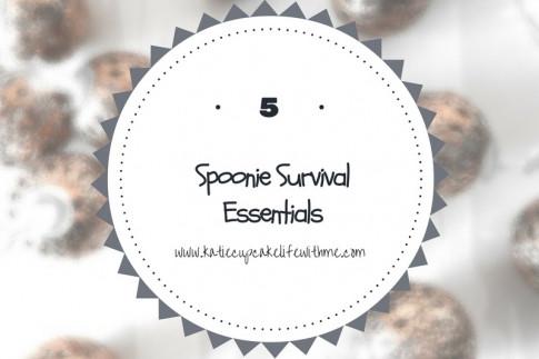 5 Spoonie Survival Essentials! | Katie Cupcake - Life With ME