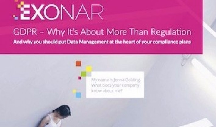 GDPR – Why It's About More Than Regulation.Download the White Paper