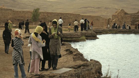 جشن آب در پردیس خشکیها