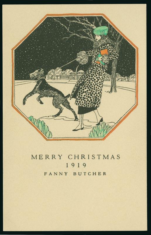 Resultado de imagem para christmas card 1919 fanny butcher