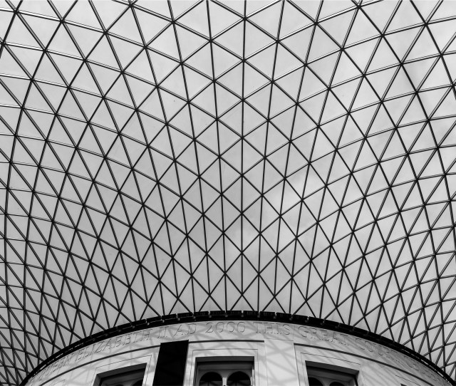Public Domain Images Architecture Black And White Geometric Skylight