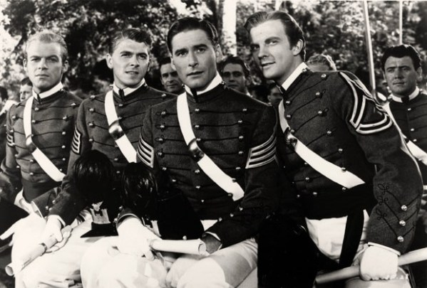 Santa Fe Trail (1940) - Ronald Reagan, Errol Flynn and Olivia de Havilland