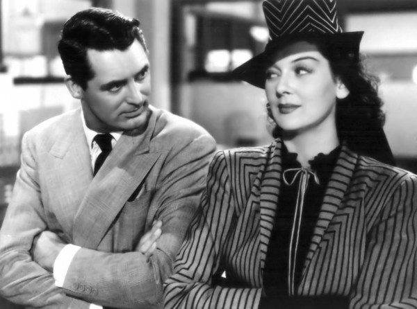 His Girl Friday, 1940 starring Cary Grant and Rosalind Russell