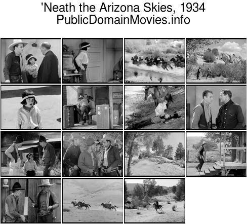 'Neath the Arizona Skies, 1934 Western film starring John Wayne