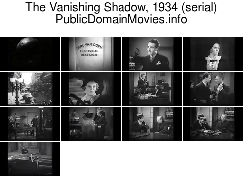 The Vanishing Shadow, 1934 (serial) Chapter 1: Accused of Murder