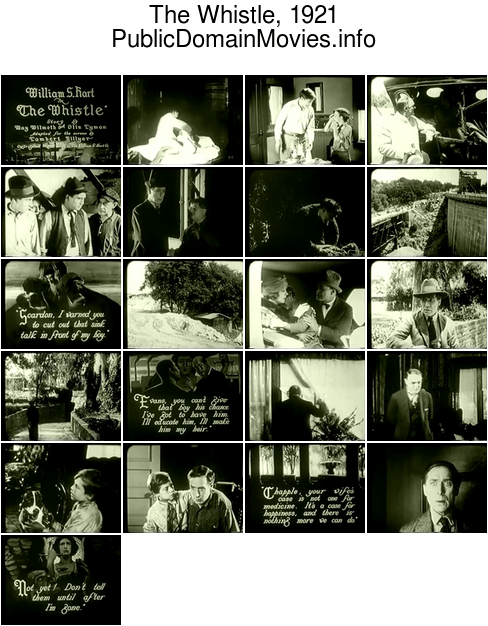 The Whistle, 1921 film