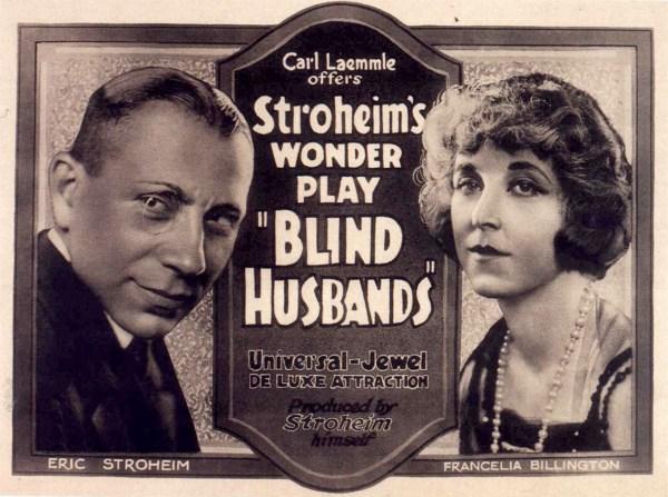 Blind Husbands, 1919