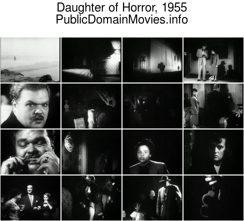 Daughter of Horror, 1955