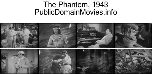 The Phantom, 1943 (serial) Chapter 1: The Sign of the Skull