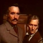 Horror Express, 1973 starring Christopher Lee, Peter Cushing, and Telly Savalas