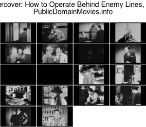 Undercover: How to Operate Behind Enemy Lines, 1943 directed by John Ford