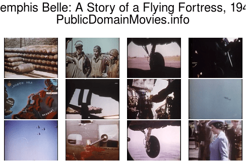 Memphis Belle: A Story of a Flying Fortress, 1944