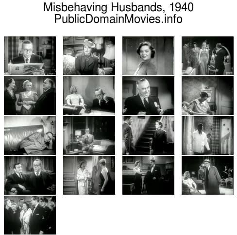 Misbehaving Husbands, 1940