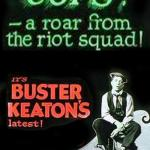 Cops, 1922 starring Buster Keaton