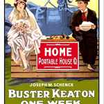One Week, 1920 movie starring Buster Keaton