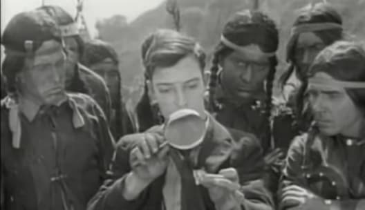 The Paleface, 1922 starring Buster Keaton