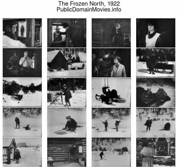 The Frozen North, 1922 starring Buster Keaton