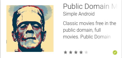 Public Domain Movies App