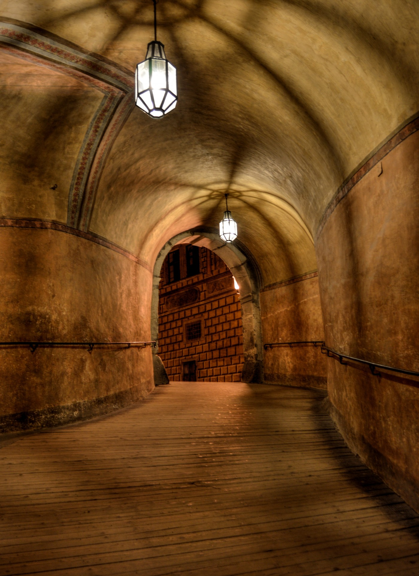 Medieval Hallway Free Stock Photo Public Domain Pictures