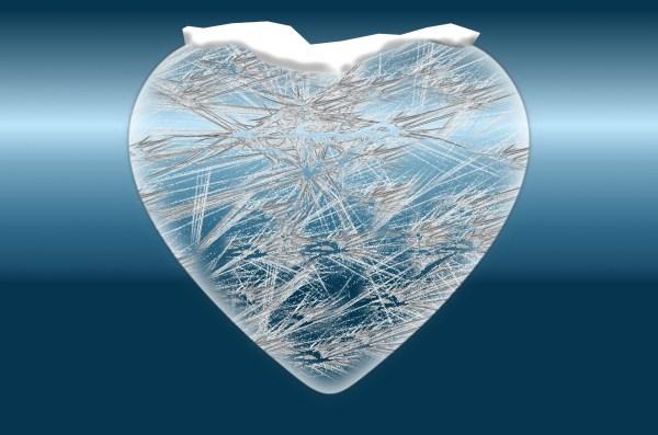Frozen Heart Free Stock Photo Public Domain Pictures