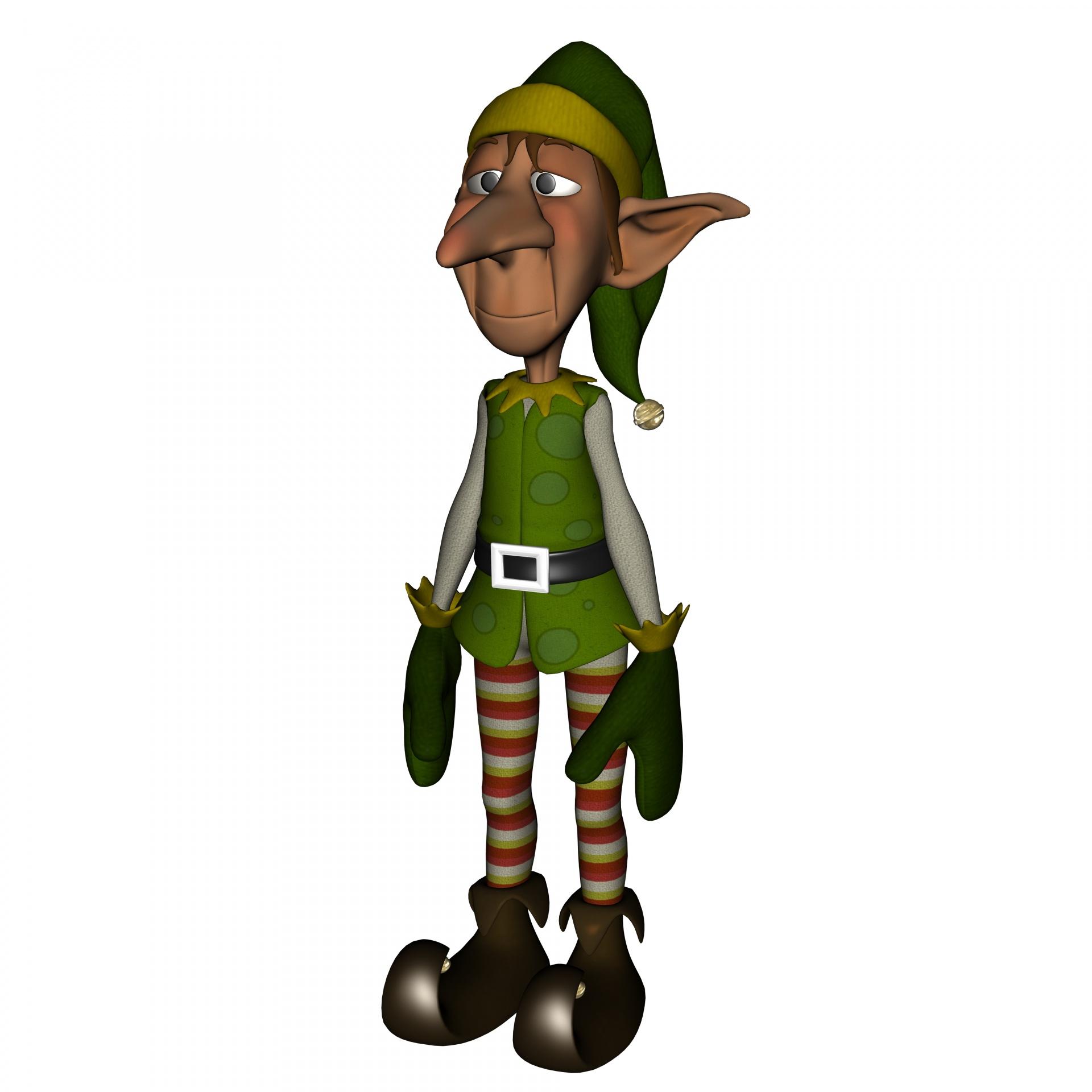Xmas Elf Free Stock Photo
